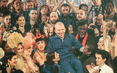 Jean Paul Gaultier is now a judge on Dancing With The Stars