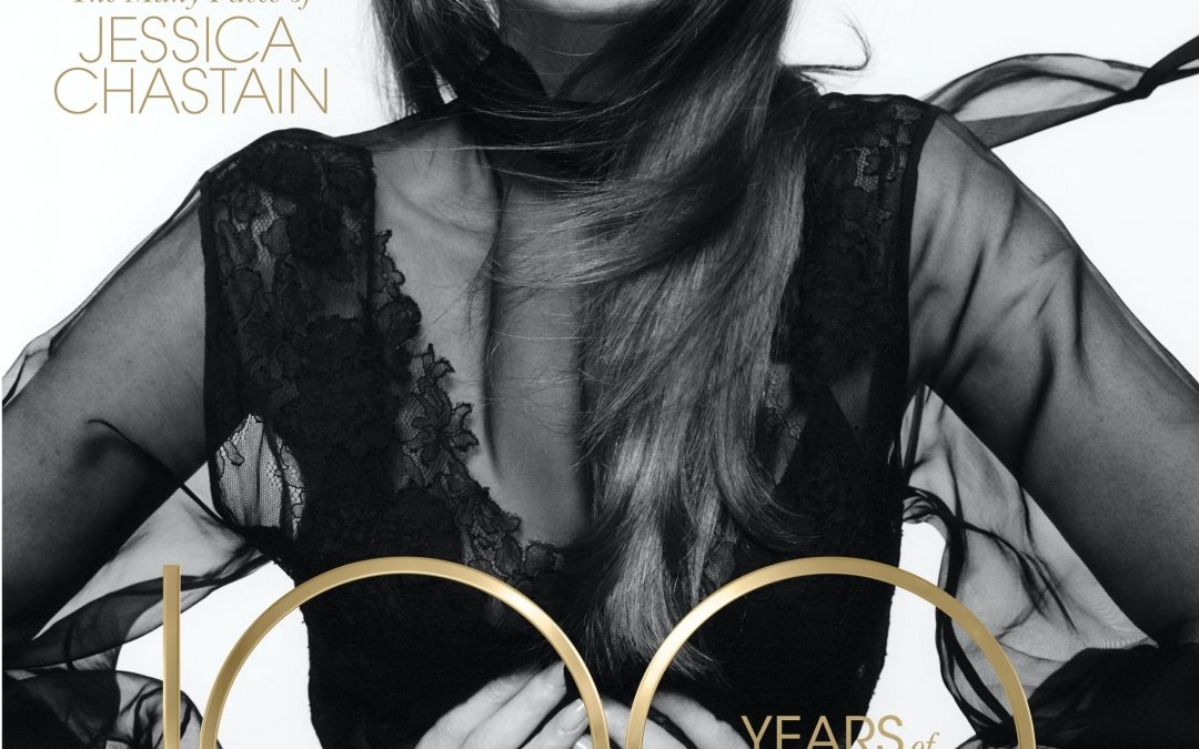 Jessica Chastain Covers L'OFFICIEL's Centennial Issue
